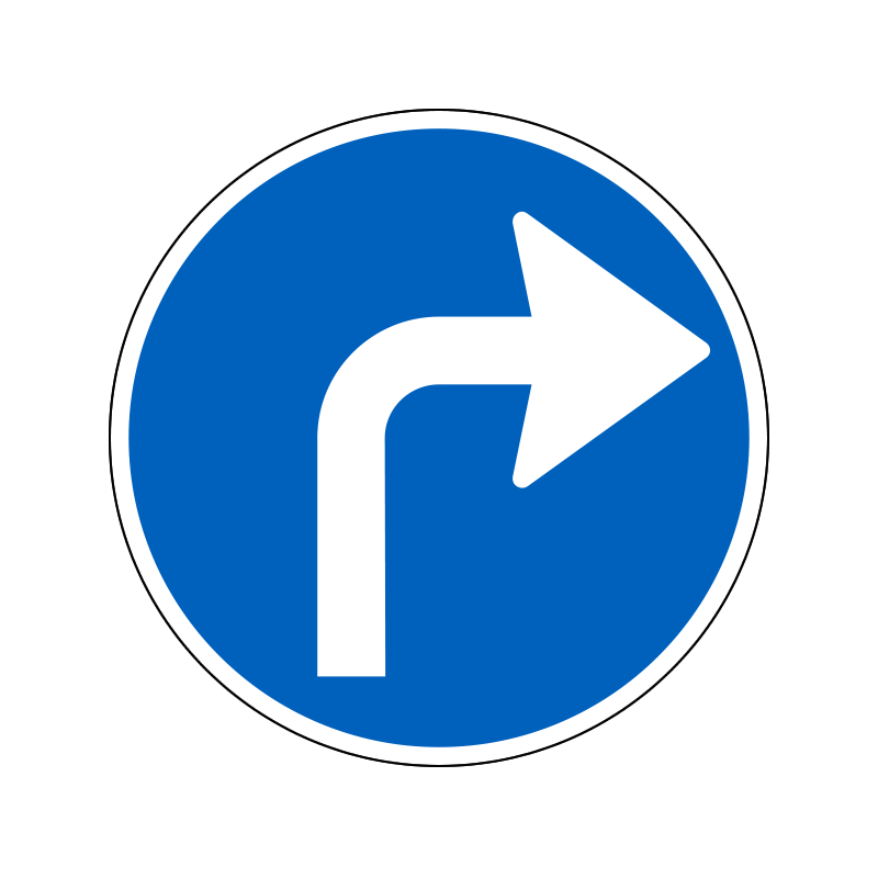 D11.5 - Påbudt kørselsretning