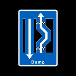 E16.3.22 - Dobbelt forsætning højre-venstre med bump
