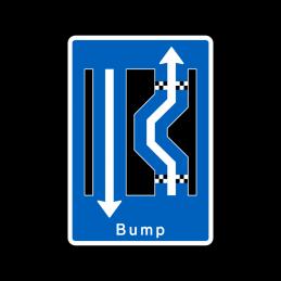 E16.3.24 - Dobbelt forsætning venstre-højre med bump