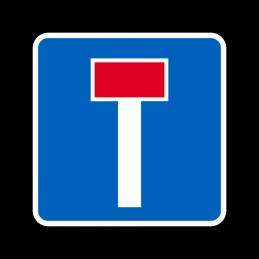 E18 - Blind vej