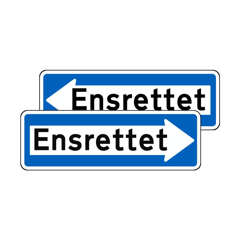 E19.2 - Ensrettet dobbeltsidet