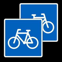 E21.1/E21.1 - Anbefalet rute for cyklister