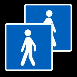 E21.2/E21.2 - Anbefalet rute for vandrene