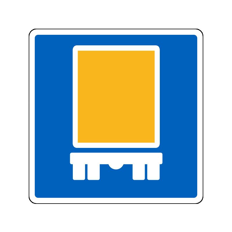 E22.2 - Anbefalet rute for køretøjer med farligt gods