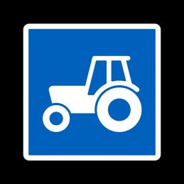E22.3 - Anbefalet rute for traktor og motorredskab