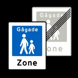E49/E50 - Gågade / Ophør af gågade
