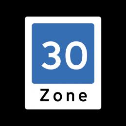E53 - Område med fartdæmpning