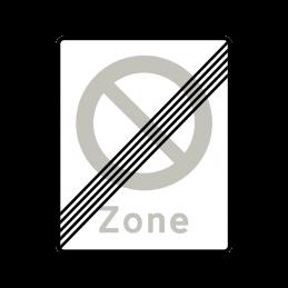 E69.1 - Ophør af Zone med parkering forbudt