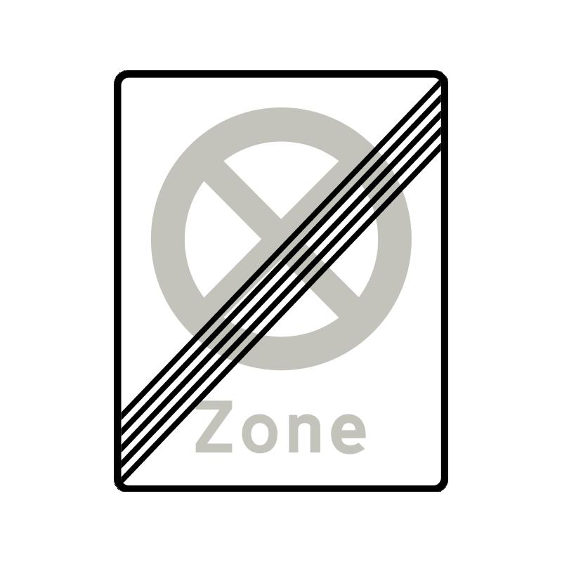 E69.2 - Ophør af Zone med standsning forbudt