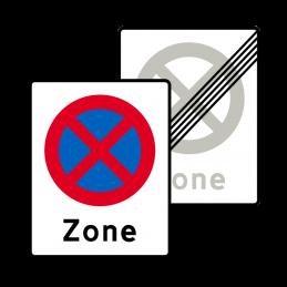 E68.2/E69.2 - Zone med standsning forbudt / Ophør