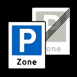 E68.3/E69.3 - Zone med parkering / Ophør
