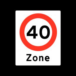 E68.4 - Zone med lokal hastighedsbegrænsning