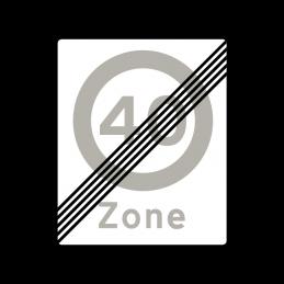 E69.4 - Ophør af Zone med lokal hastighedsbegrænsning