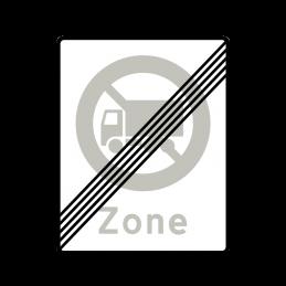 69.5 - Ophør af Zone med lastbil forbudt