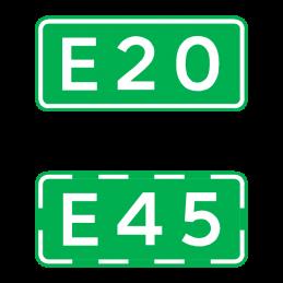 L41 - Rutenummer til europavej