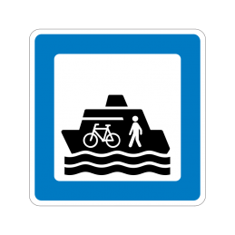 M 10 - Færge for cyklende/gående