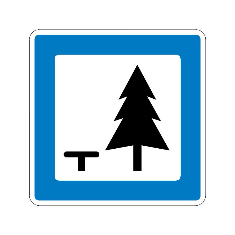 M 34 - Rasteplads