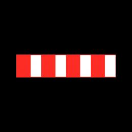O 45 - Spærrebom for ophør af vej eller sti
