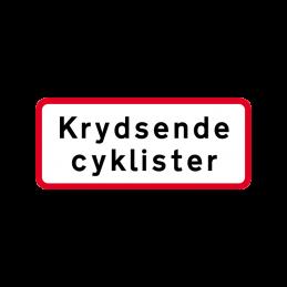 UA 21.1 - Krydsende cyklister