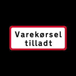 UC 20.7 - Varekørsel tilladt
