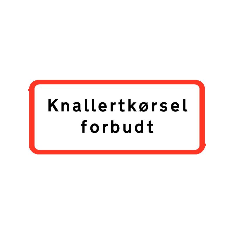 UC 22.1 - Knallertkørsel forbudt