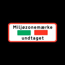 UC 23 - Miljøzonemærke undtaget