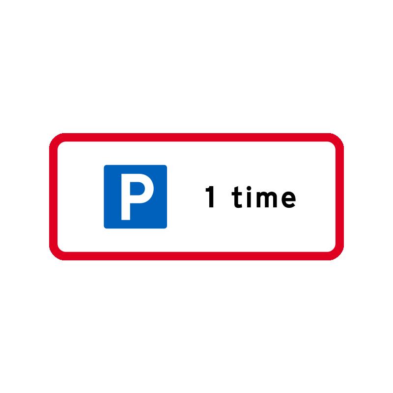 UC 33 - Begrænset parkeringstilladelse