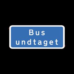 UD 11.2 - Bus undtaget