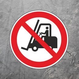 Gulvmarkering - Truckkørsel...
