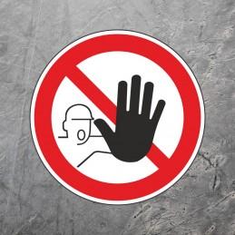 Gulvmarkering - Adgang forbudt