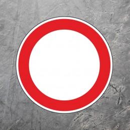 Gulvmarkering - Forbud mod...