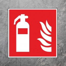 Gulvmarkering - Brandslukker