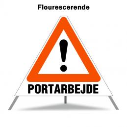 Foldeskilt - A99 + Portarbejde