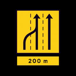 E 16.4.1 - Vognbaneforløb