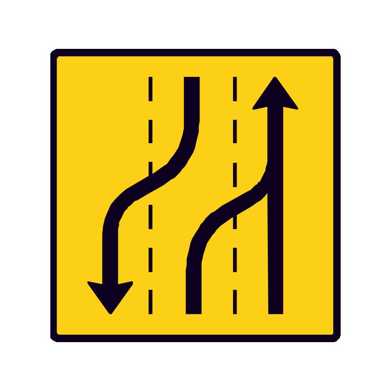 E16.5.4 Vognbaneforløb