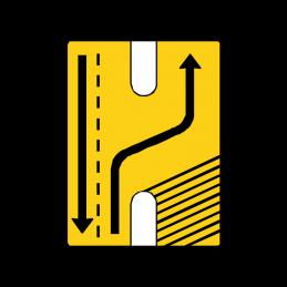 E16.9 Vognbaneforløb