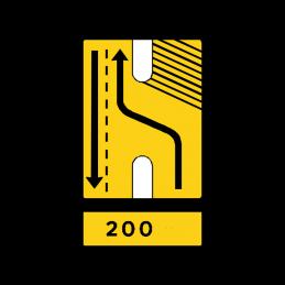 E16.9.1 Vognbaneforløb