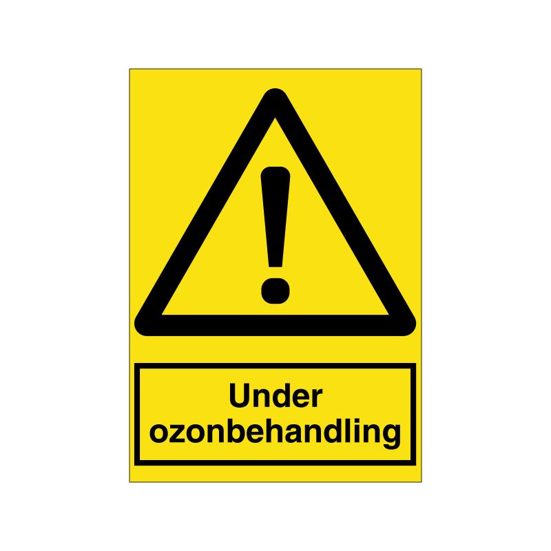 under ozonbehandling