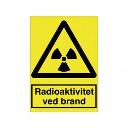 Radioaktivitet ved brand
