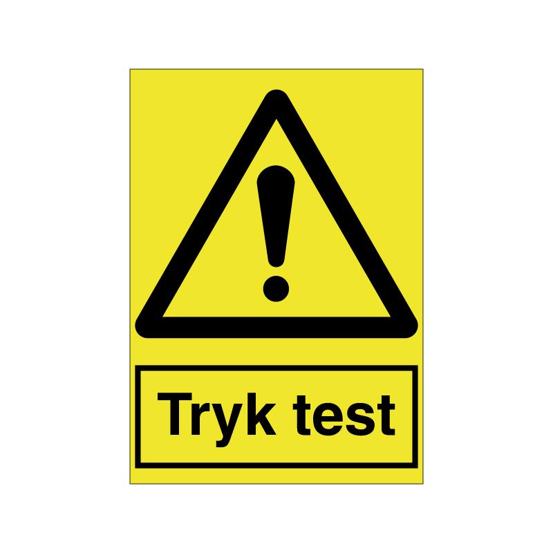 Tryk test