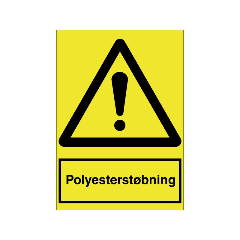 Polyesterstøbning