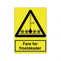 Fare for frostskader