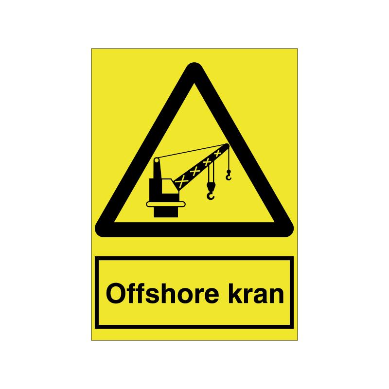 Offshore kran