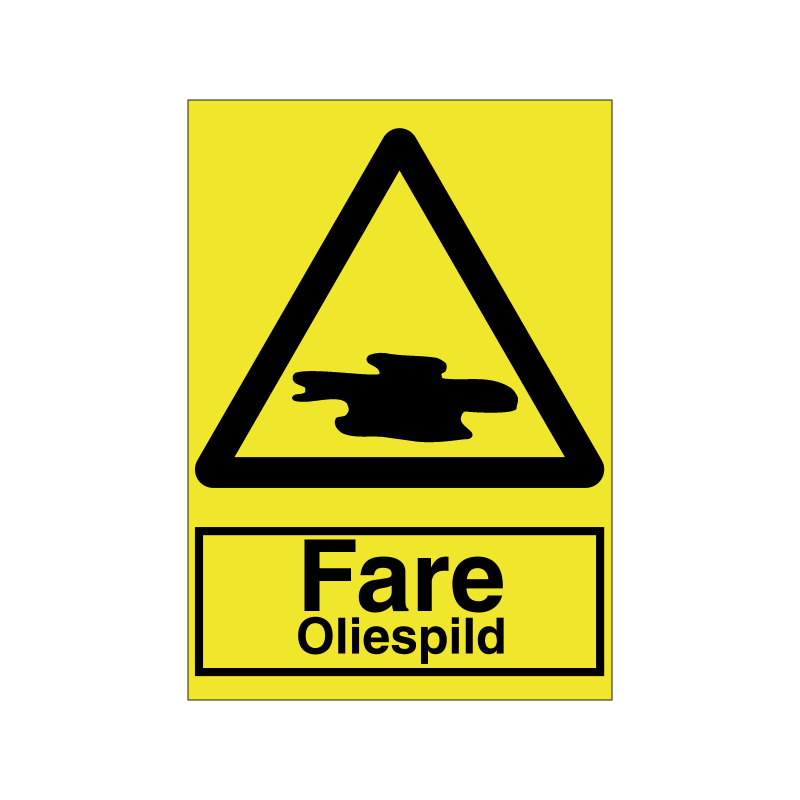 Fare oliespild