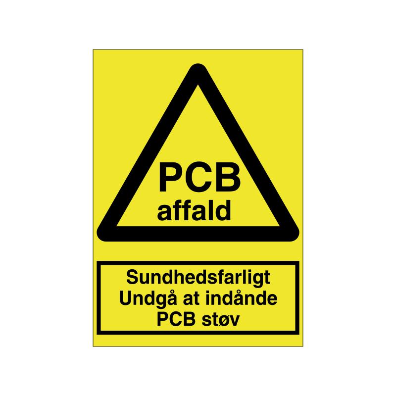 Sundhedsfarligt at indånde PCB støv