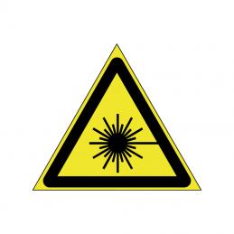 Advarsel om laserstråle