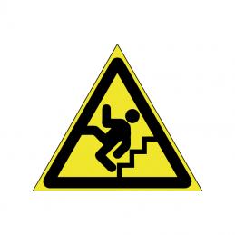 Forsigtig færdsel på trappe