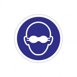 Uigennemsigtig øjenbeskyttelse påbudt