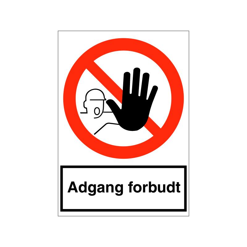 Adgang forbudt