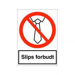 F189 - Slips forbudt